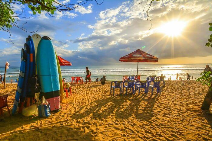 kuta beach beach