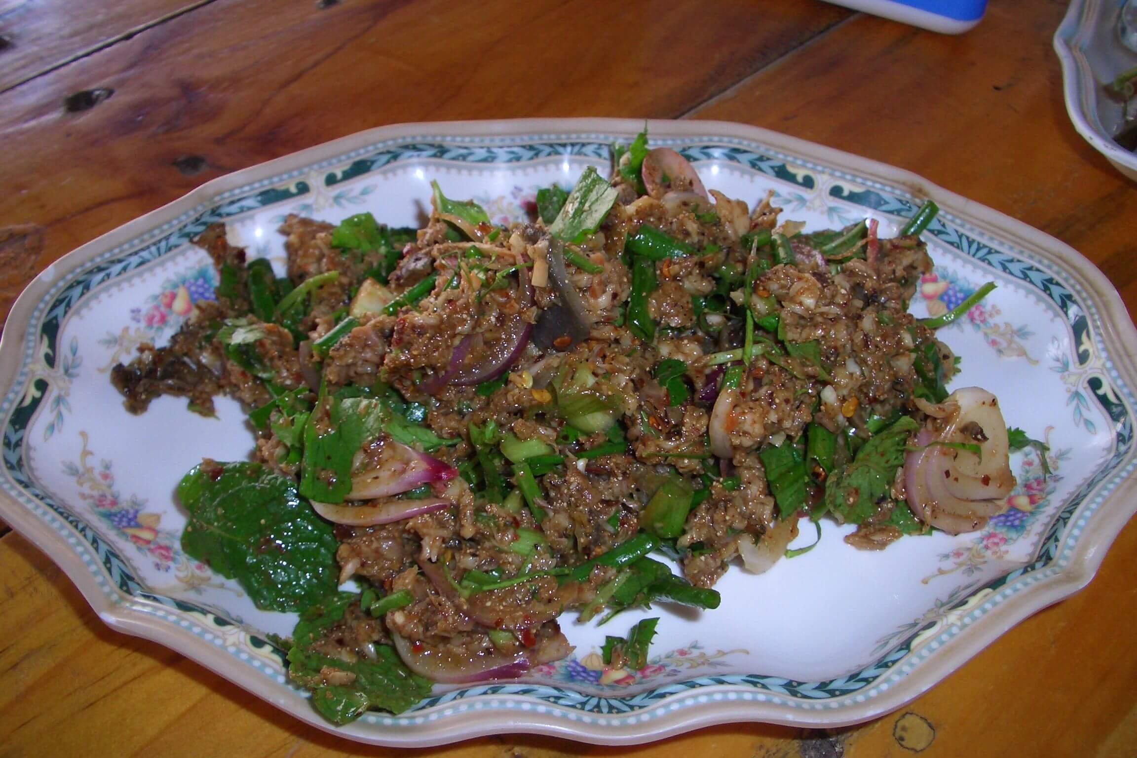 laap, laos food