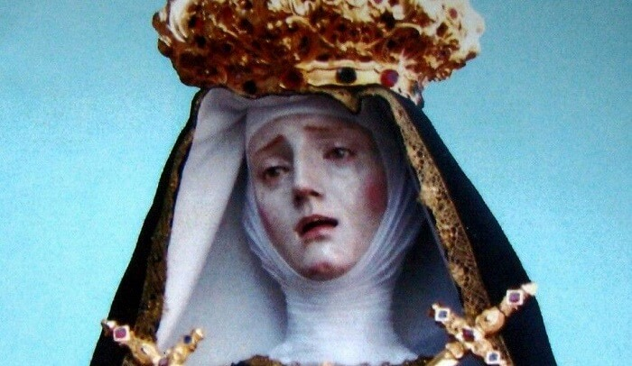lady of seven sorrows