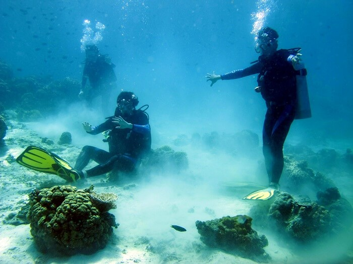 an awesome spot for scuba diving