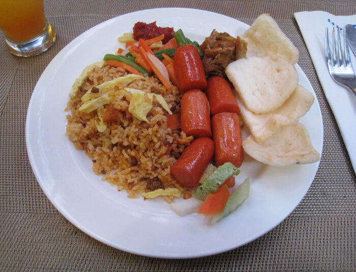 national dish of Indonesia