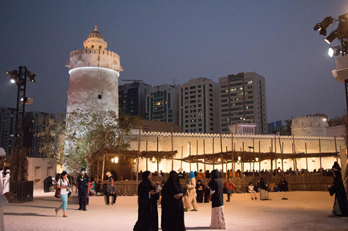 the symbolic birthplace of Abu Dhabi