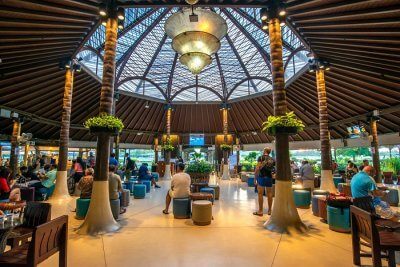 Samui airport in Thailand