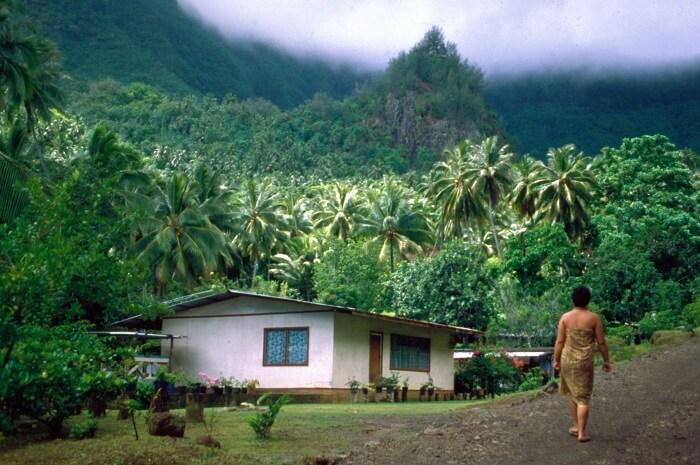 village in indonesia