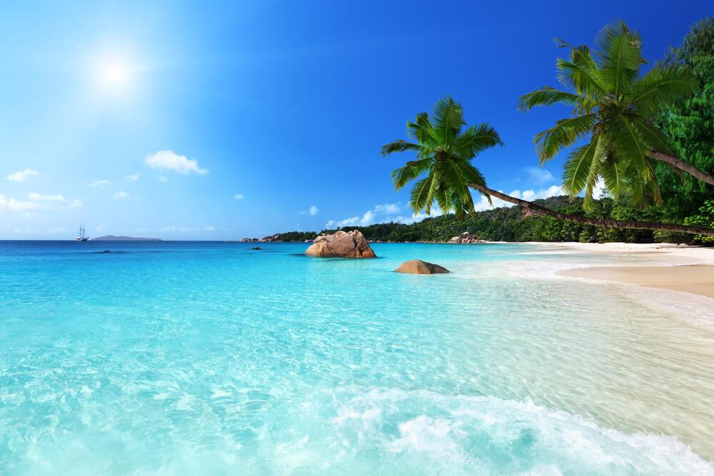 a gorgeous beach