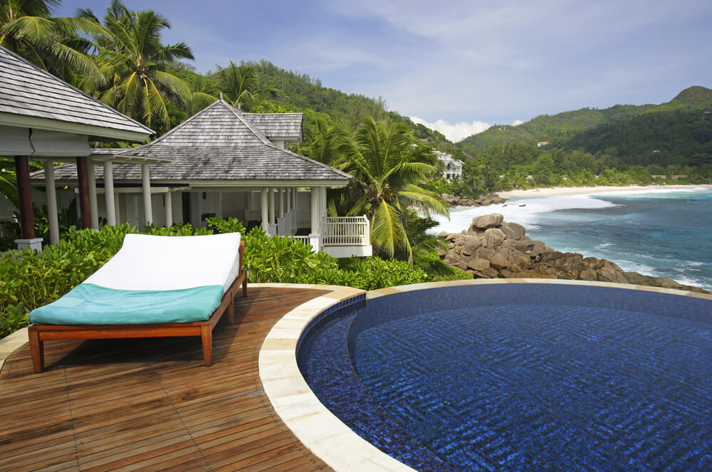 a resort in seychelles