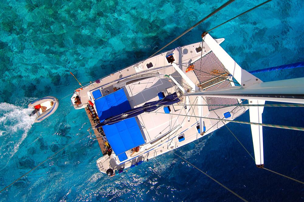 catamaran cruise in seychelles