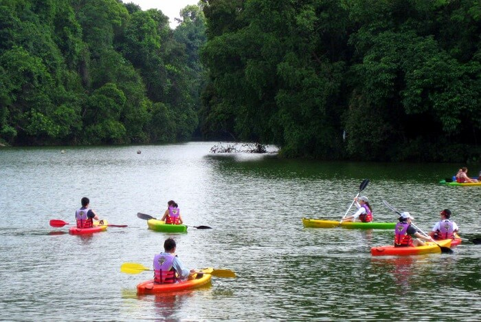 singapore kayaking