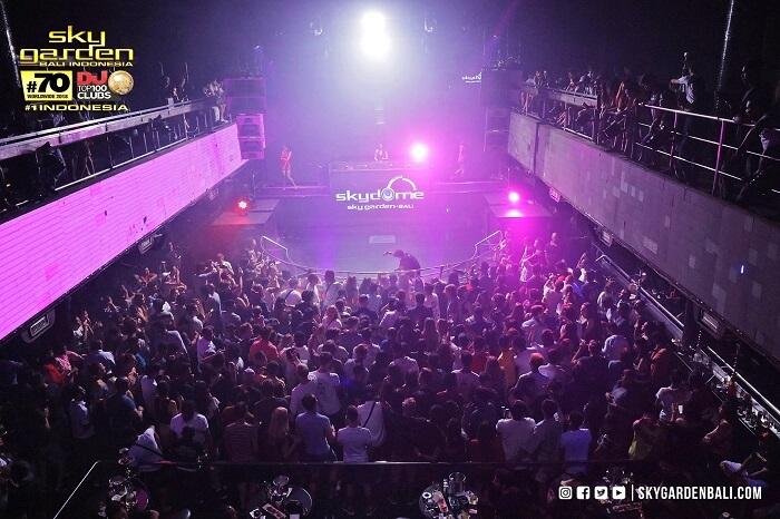 DJ Night Party in Sky Garden
