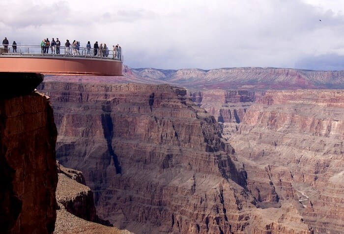 Skywalk in North Rim