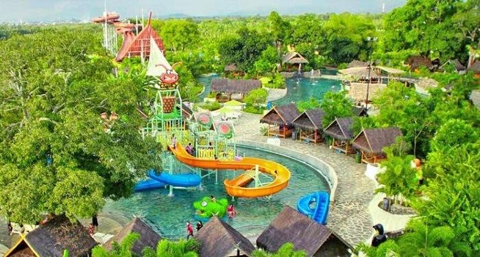 a specially designed marine park