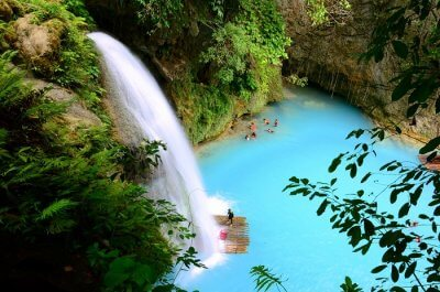 waterfall in cebu philippines