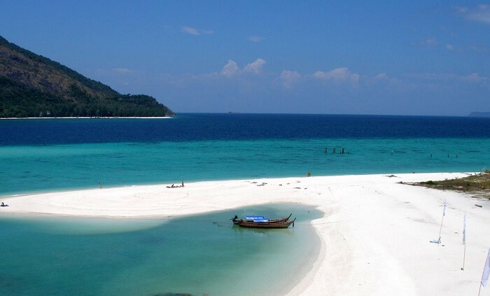 must visit this white sand island