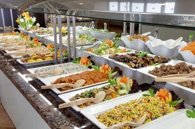 buffet meal