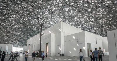 Louvre Abu Dhabi museum, in Abu Dabhi, UAE