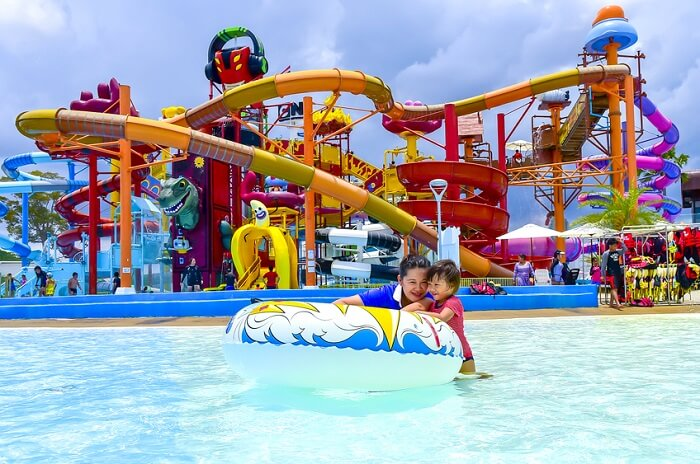 View of Adventure Cove Waterpark