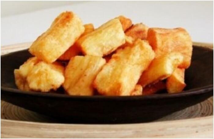 essentially yuca fries