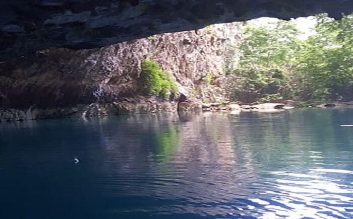 thrilling caving