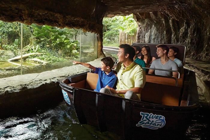 Amazon River Quest, River Safari Singapore