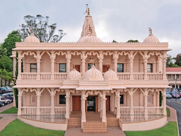first Hindu temple in Rotorua