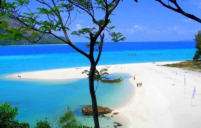 most beautiful white sand beach