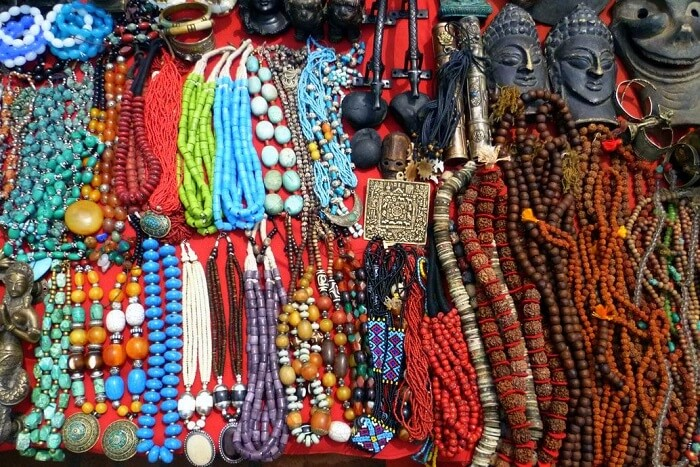 beads and stone jewelry