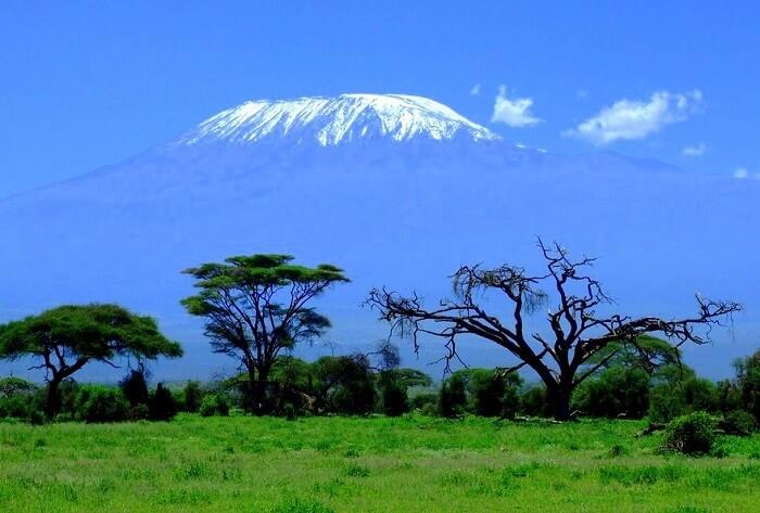Amboseli Kenya Mountain