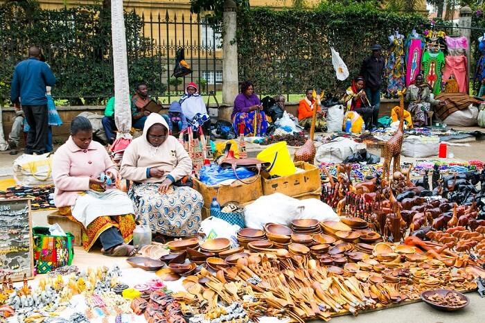 market of the locals