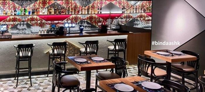 bindass bar in Hong Kong