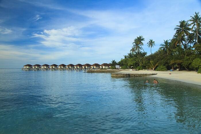 Bravo Club village in Alimatha island