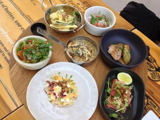 enjoy Mediterranean and Continental food