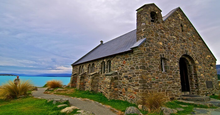 scenic beauty church in new zealand
