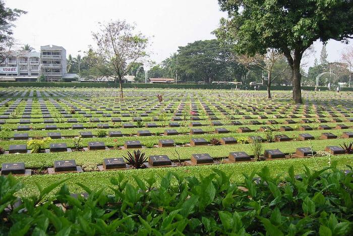 War Cemetery in Thailand