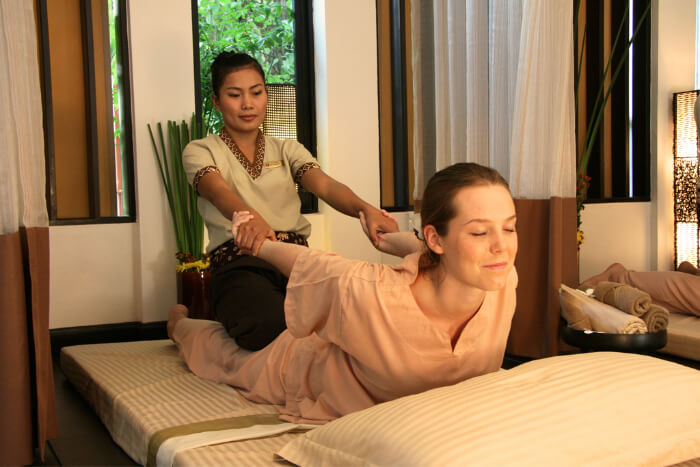 body massage for relief