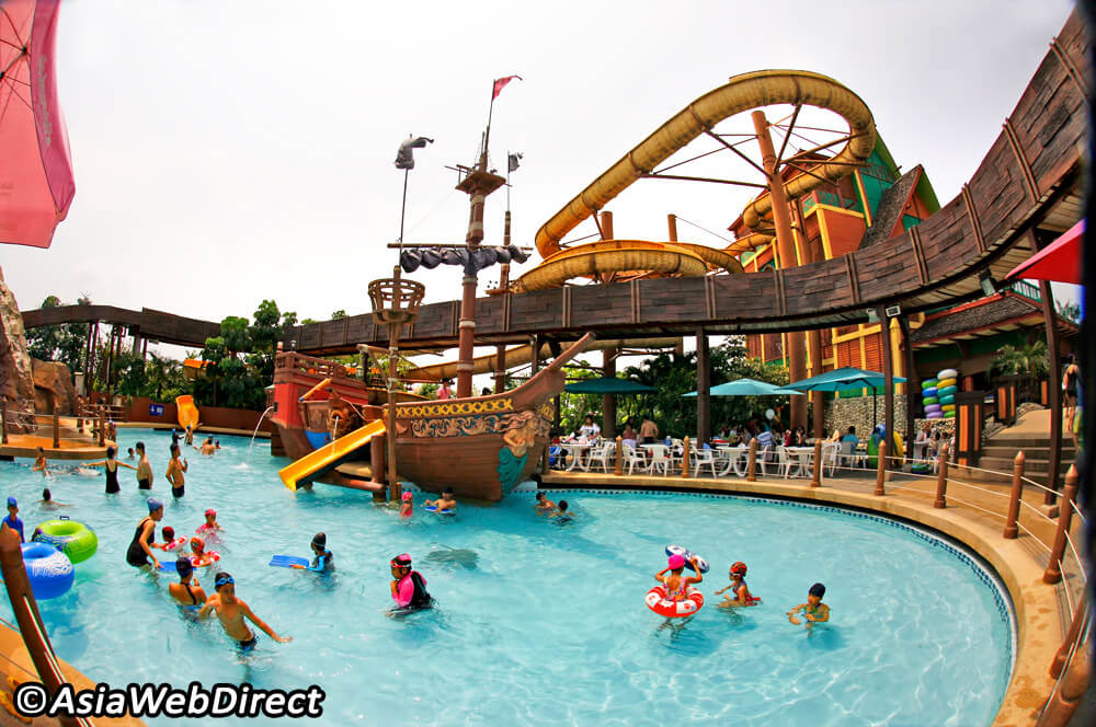 enjoy the waterpark fun
