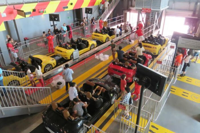 Fiorano GT Challenge at Ferrari World