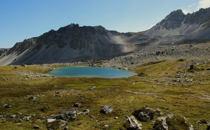 Glaciers and Alpine Region