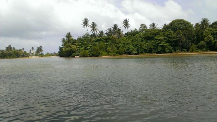 Lake of Hikkaduwa