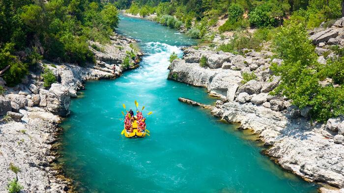 blue Koprucay River