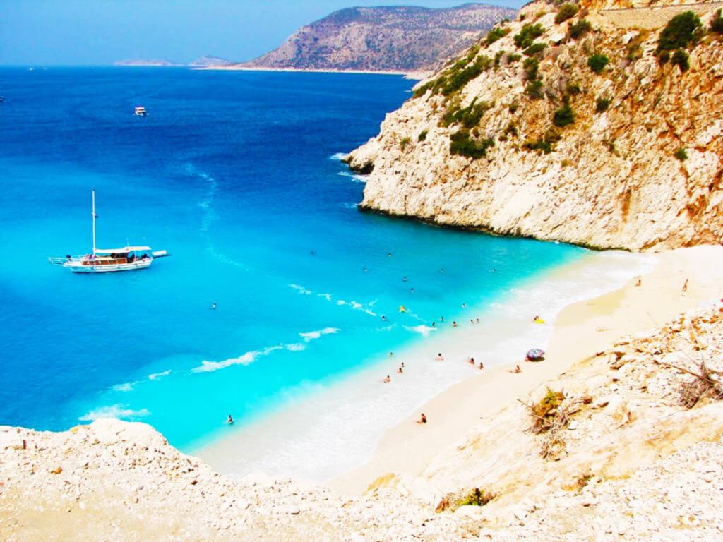 picturesque coastal stretch