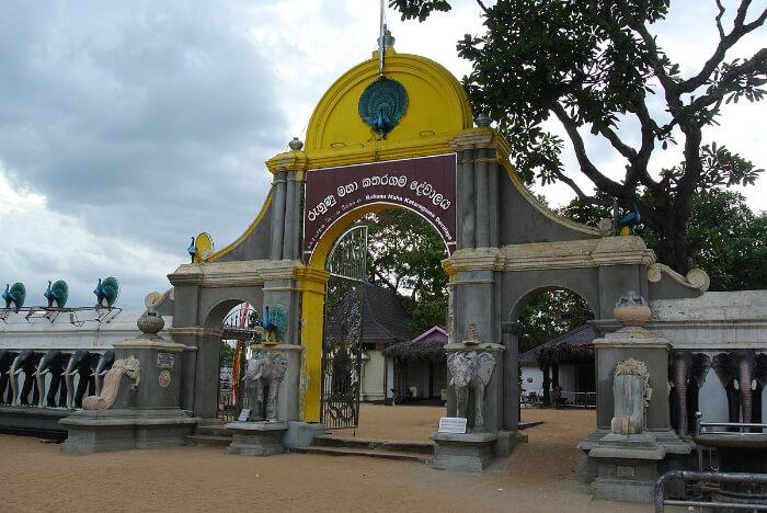 temple in Yala