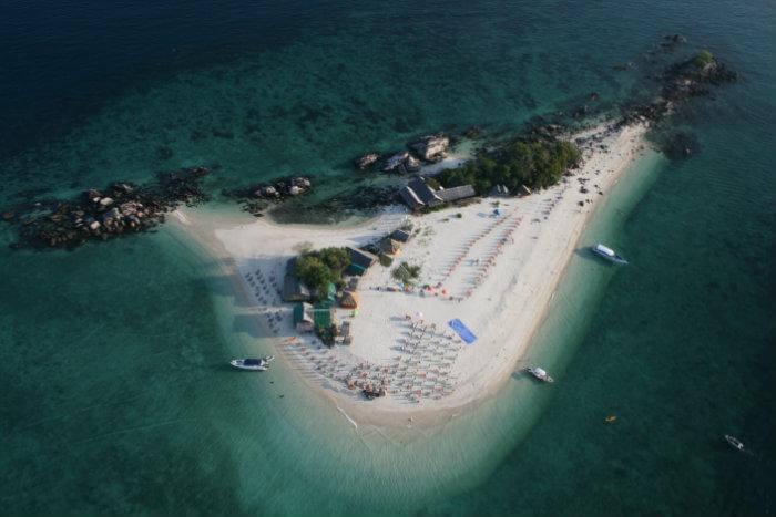 Khai Island in Thailand
