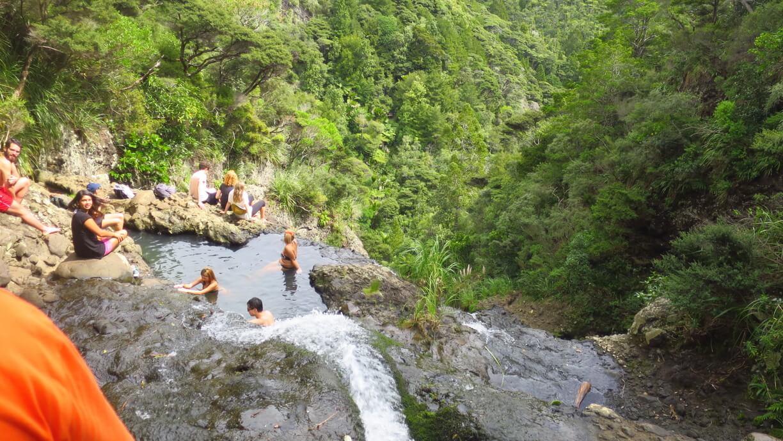 beautiful Kitekite Falls