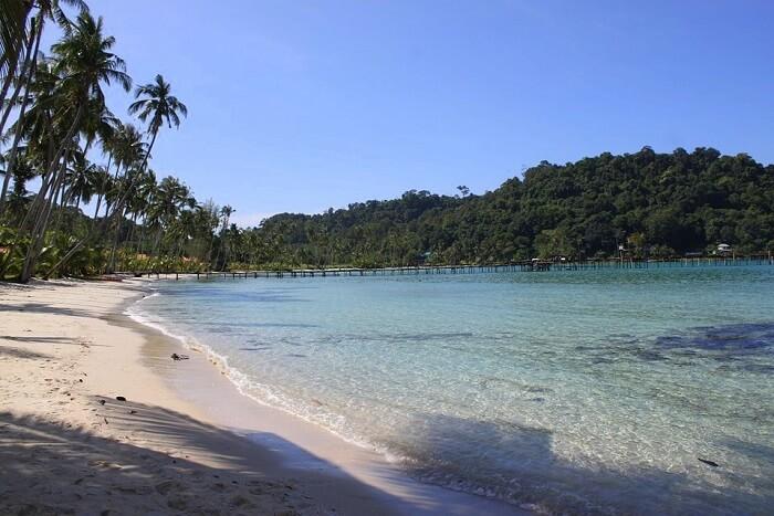 majestic Koh Kood beach