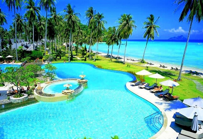 immensely pretty island