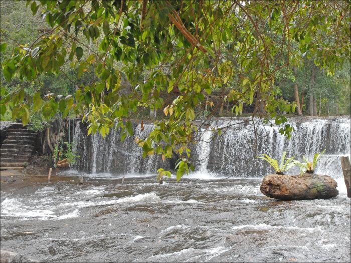 beautiful waterfall