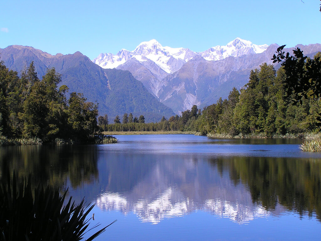 blue Lake Matheson