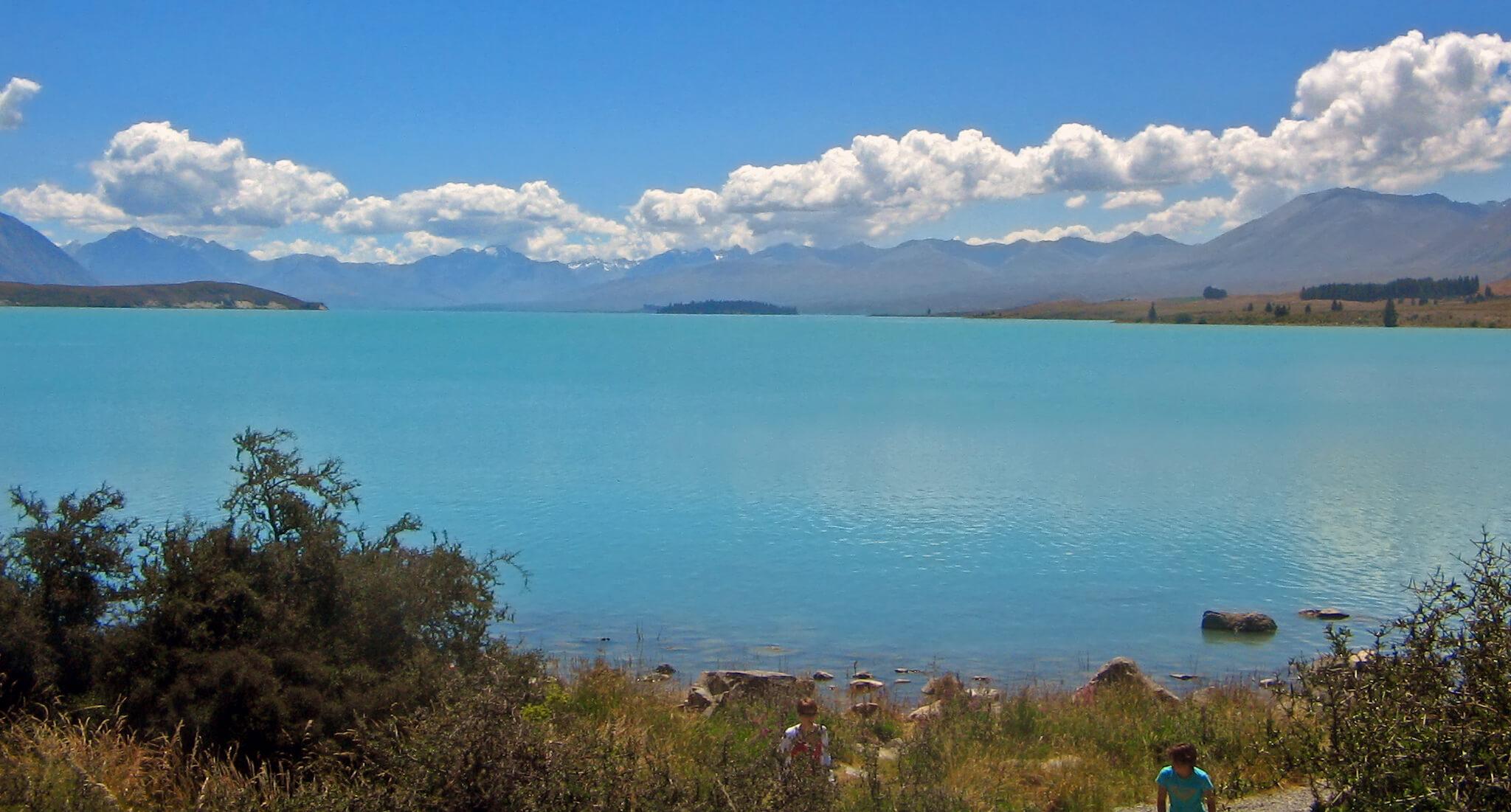 blue Lake Tekapo