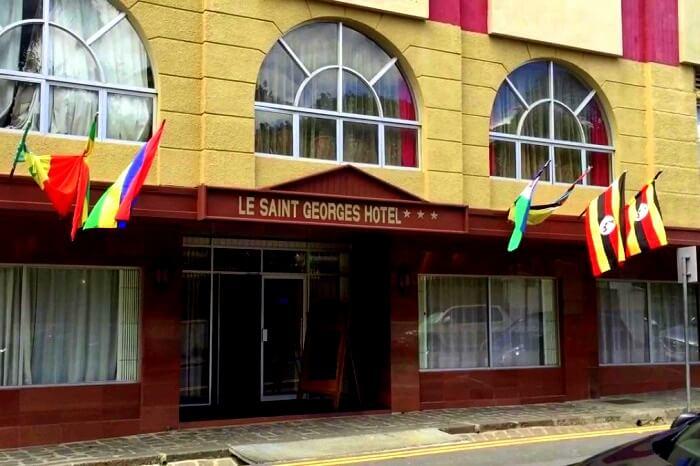 Le Saint Georges Hotel Port Louis