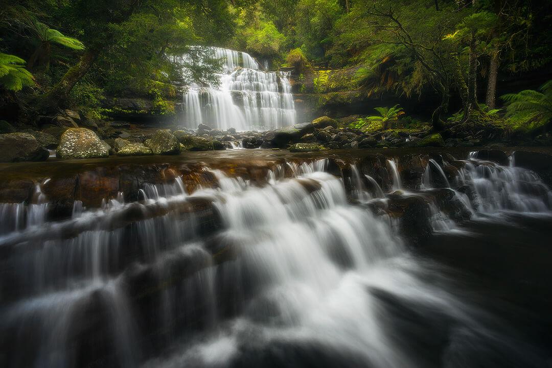 Beautiful Liffey Falls